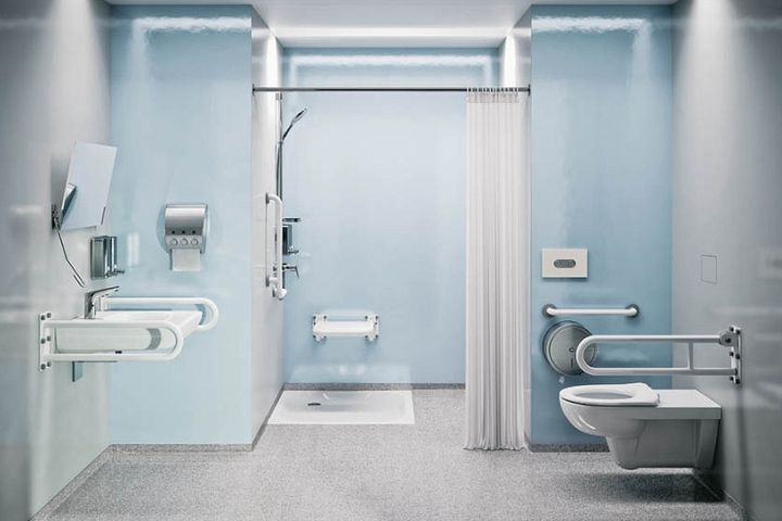 Cerbud łazienki Dla Niepełnosprawnych Umywalki Dla