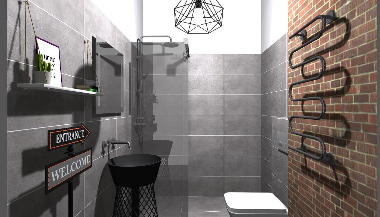 Cerbud Wizualizacje łazienek Cerbud